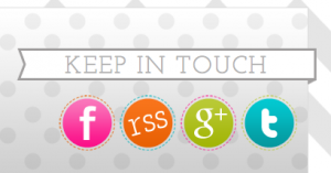 Keep in Touch Area of the Modern Blogger Theme