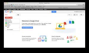 Create Form on Google Drive