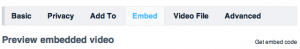 Embedding Private Videos with Vimeo