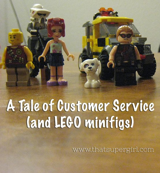Customer Service and LEGO on eBay