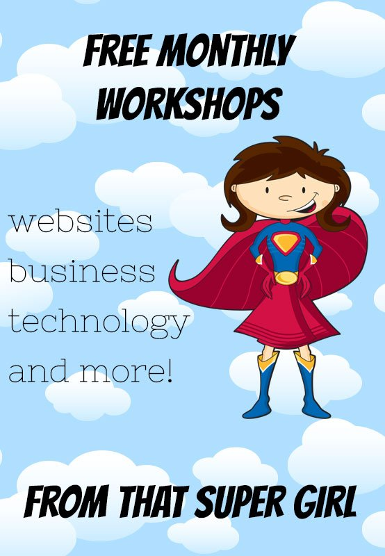 Workshops from That Super Girl