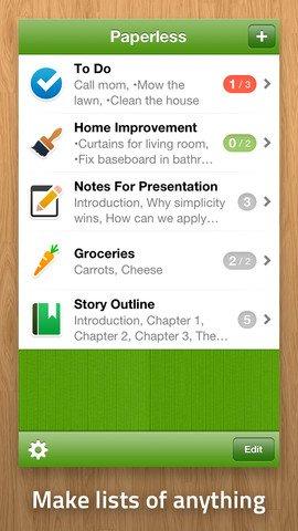Paperless App for iPad
