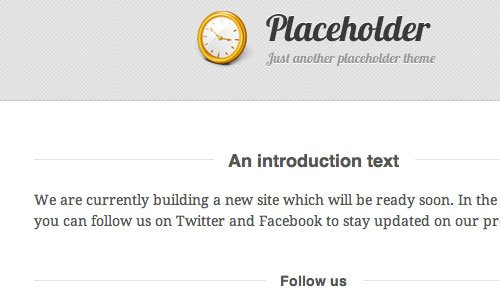 Placeholder by WooThemes