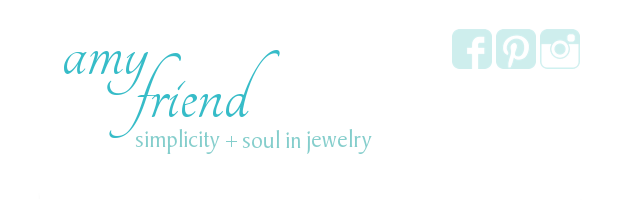 Social Media Buttons at Amy Friend Jewelry