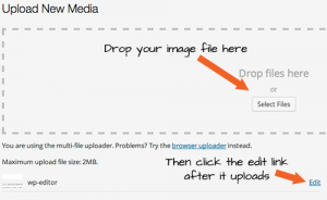Wordpress Image Uploader