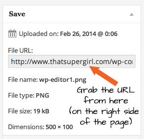 Obtain File URL in WordPress Uploader