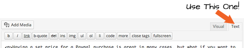 Wordpress Code Editor